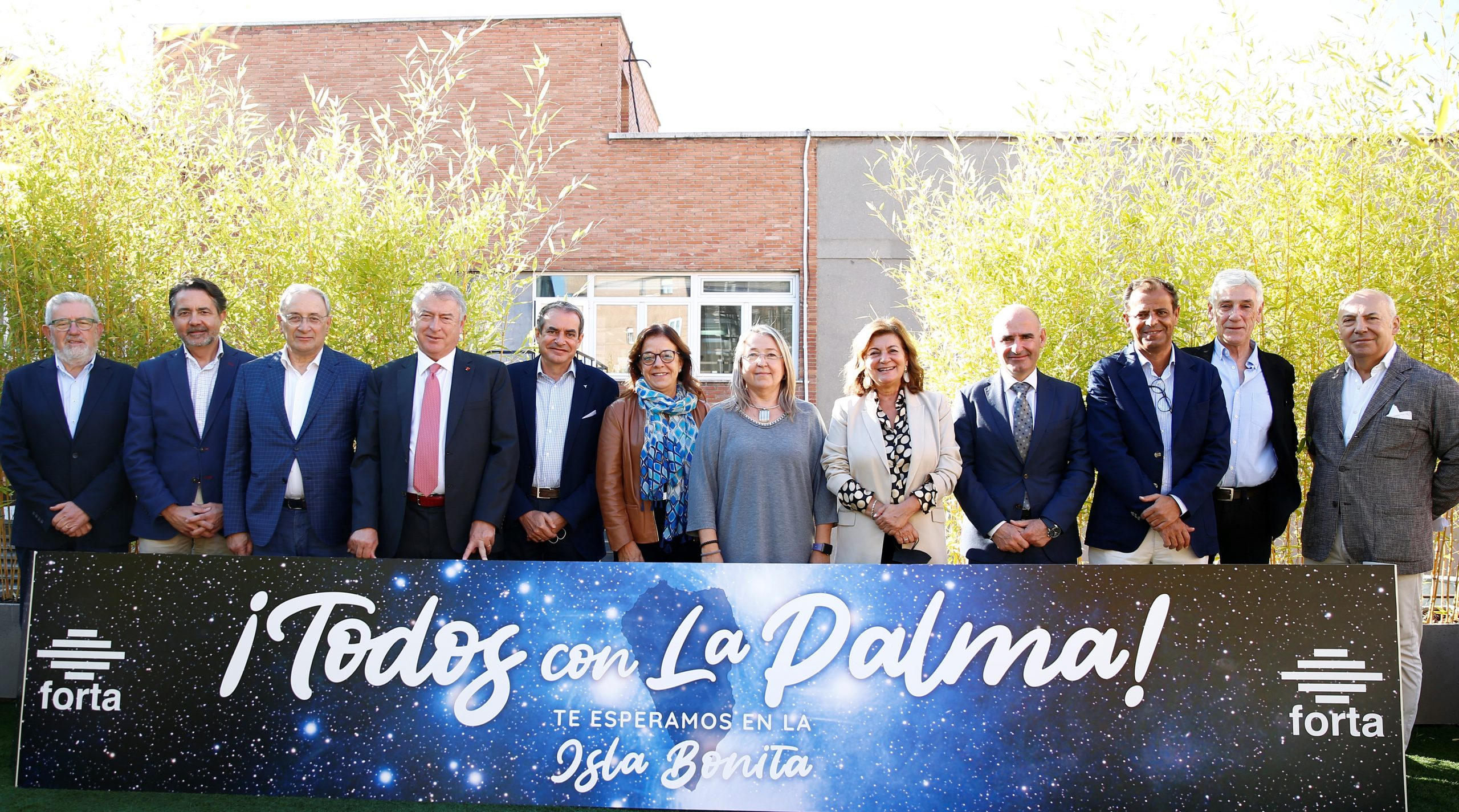 RTVC rinde homenaje a La Palma cuando se cumple un mes de la erupción del volcán